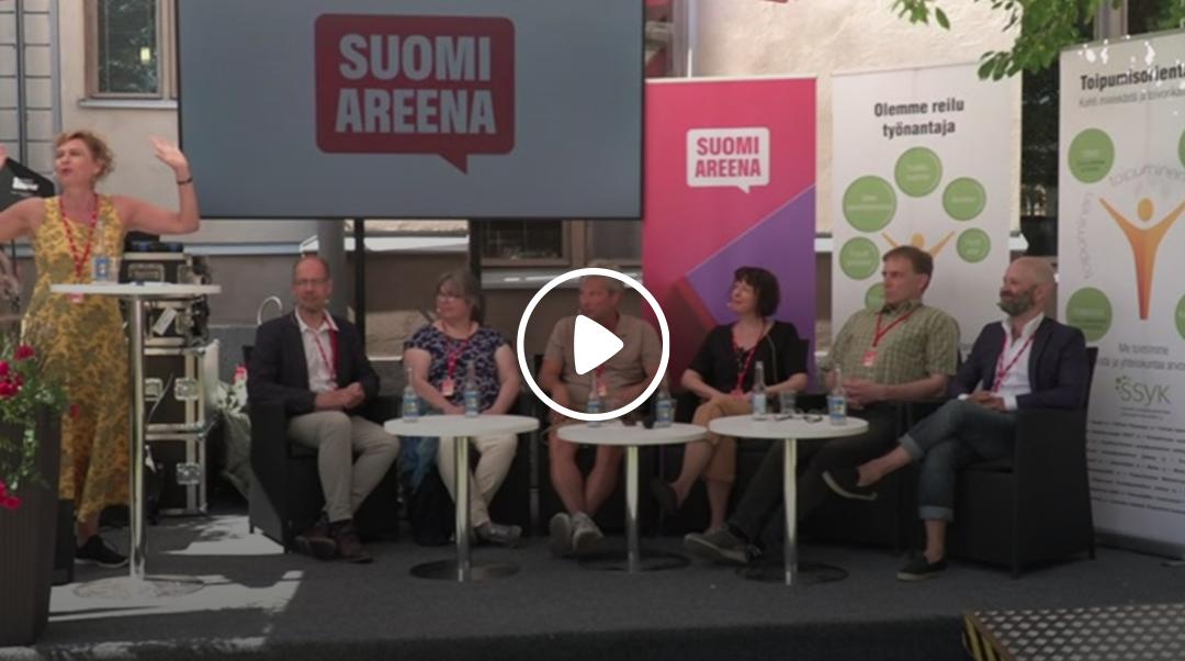 MTV: SuomiAreena – Toipumisorientaatio – mielenterveystyön uusi suunta?